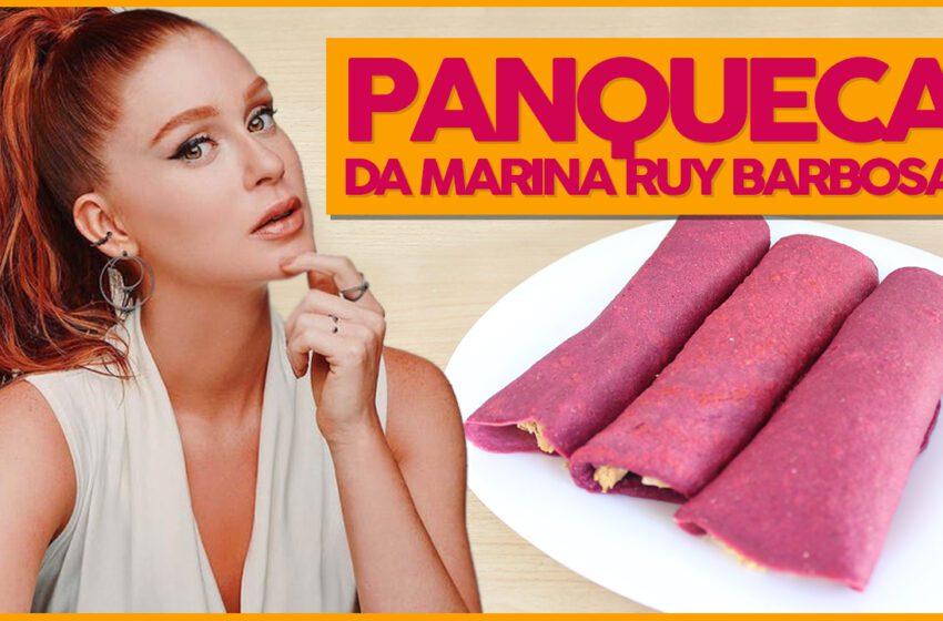 Panqueca Saudável da Marina Ruy Barbosa